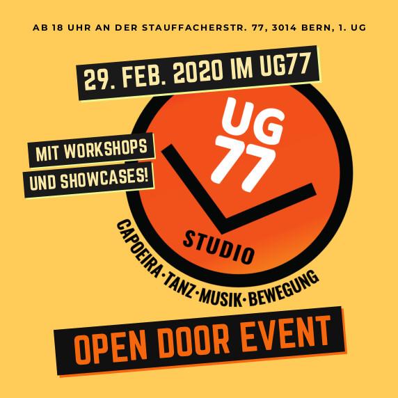 UG77-open door event